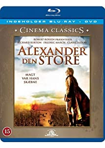 Alexander the Great (Blu-ray + DVD) (1956) (Region 2) (Import)