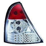 JOM 80934 R�ckleuchten, LED, Renault Clio Bj. 09/98-05/01, rot / chrom
