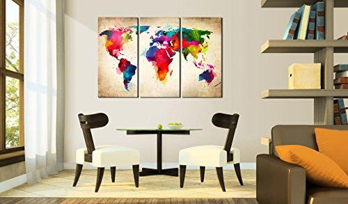 quadro 120x80 cm tre colori da scegliere 3 parte grande formato quadro su tela fliselina. Black Bedroom Furniture Sets. Home Design Ideas