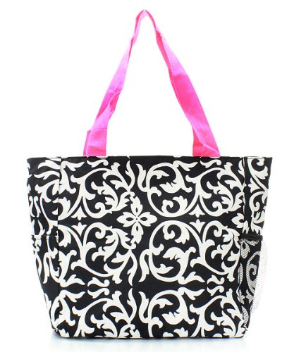 Damask Tote Bag Hp