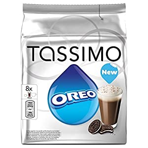 Find 10 X Factory Sealed Pack Tassimo T-Disc Pods Oreo Cookies Hot Chocolate - 8 Servings Including Creamer Pods from Tassimo
