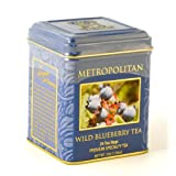 Wild Blueberry Ceylon Tea in Decorative Tin, 25 Bags - SALE ~ Metropolitan Tea Co.