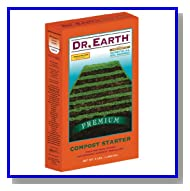 Dr. Earth Compost Starter Boxed