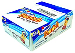 Hostess Berries & Cream Cheese Danish 5 oz (pack of 6 Individual Packages)