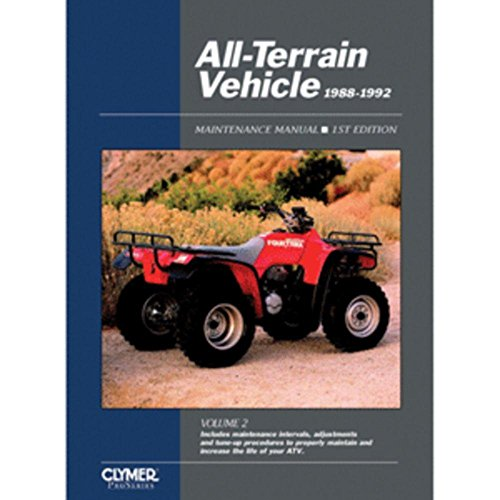 Clymer ProSeries All-Terrain Vehicle Vol. 2, (1988-1992) consumer electronics