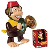 Toysmith - Wind up Monkey, Claps Golden Tin Cymbals and Walks