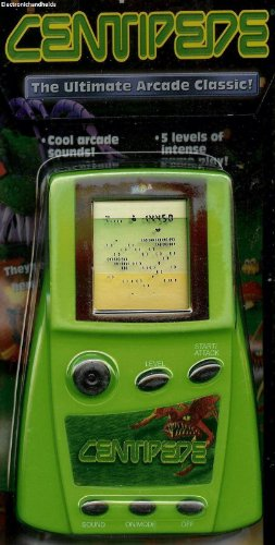 MGA Centipede Arcade Electronic Handheld Game (Centipede Game compare prices)