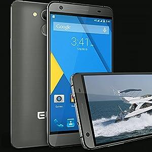 Elephone P7000 Pioneer Smartphone Touch ID 3GB 16GB 64bit MTK6752 5.5 inch FHD Gray