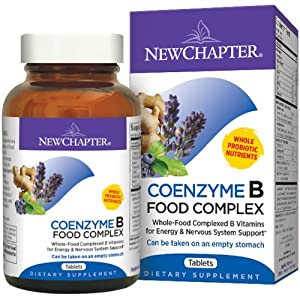 New Chapter - Coenzyme B Food Complex - 180 tabs