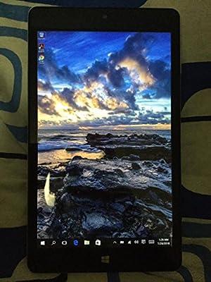 2016 Newest NuVision 8-inch Full HD (1920 x 1200) IPS Touchscreen Tablet PC, Intel Atom Z3735F Quad-Core Processor, 2GB RAM, 32GB SSD eMMC, Webcam, WIFI, Windows 10, Silver