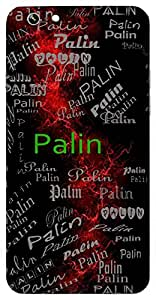 Palin (Protecting) Name & Sign Printed All over customize & Personalized!! Protective back cover for your Smart Phone : Apple iPhone 4/4S