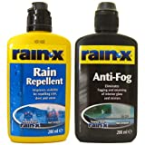 All Trade Direct 2 X Rain Repellent And Anti Fog Mixed Bundle By Rain X Mist Sleet Snow