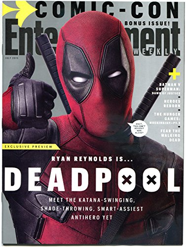 DEADPOOL - Entertainment Weekly, NM, Ryan Reynolds, 2015, more SDCC in store (Figure Four Weekly compare prices)