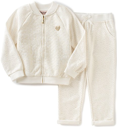 juicy-couture-baby-girls-2-piece-quilted-metallic-knit-jacket-and-pant-set-off-white-24-months