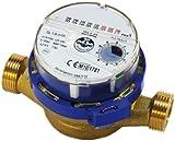 Flux de compteur d'eau de haute qualité, l'eau froide 3/4 de pouce (1 pouce) mètres bsp 4,0 m3 / h...