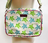 Bungalow360 Vegan Tablet Bag - Sea Turtles