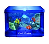 Aquarium animé à piles ou luminaire à led pour enfant - déco poissons