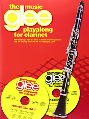 Glee Playalong - Clarinet (Book & CD)