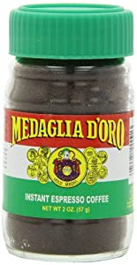 Medaglia D'Oro Instant Espresso Coffee, 2 Ounce (Pack of 12)