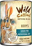 Wild-Calling-13oz-Hoppys-96-Rabbit-Canned-Dog-Food-12-pack