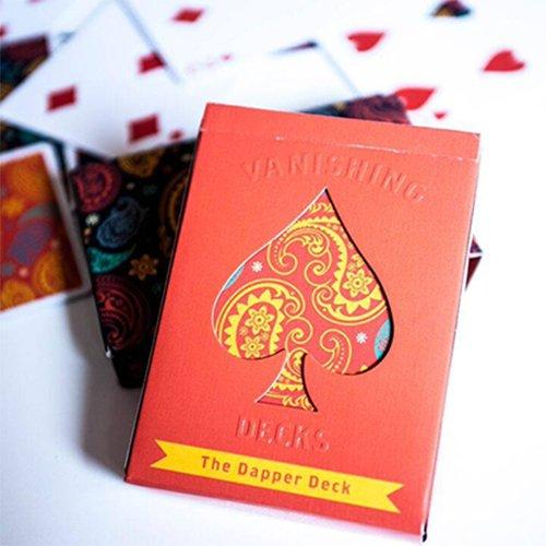Mazzo di carte The Dapper Deck (Orange) by Vanishing Inc. - Mazzi di carte da gioco Vanishing inc. - Giochi di Prestigio e magia