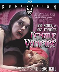 Female Vampire (with Erotikill): Remastered Edition [Blu-ray]