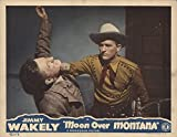 "Private: Moon Over Montana 1946 Authentic 11"" x 14"" Original Lobby Card Jimmy Wakely Western"