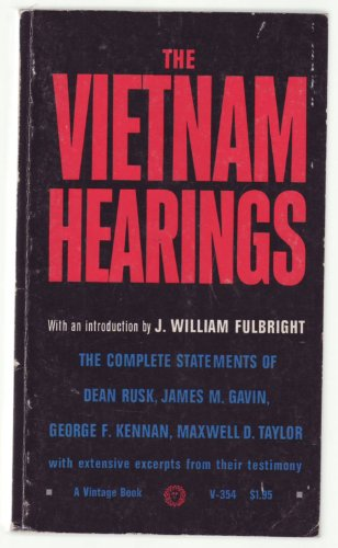 Vietnam Hearings Voices from the Grass Roots PDF