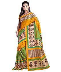 SB Creations Women's Turcky Silk Saree (SB_096_Multi)