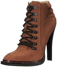 gx by Gwen Stefani Women\'s Teardrop Boot, Cognac, 6.5 M US