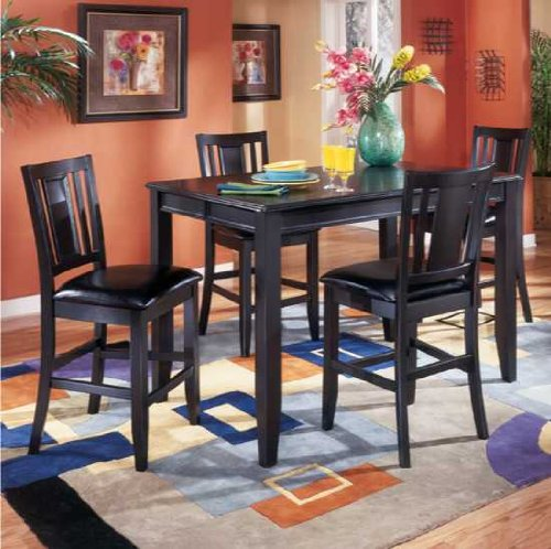 Buy Low Price Signature Design By Ashley Carlyle Counter Height Dinette Set by Signature Design  (D371-CD-SET)
