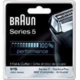 Braun 8000 360 Complete Foil and Cutter Block for Models 8995, 8985 and 8975