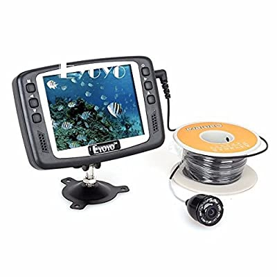 Eyoyo Original 1000TVL Underwater Ice Video Fishing Camera Fish Finder 30M Cable 3.5'' Color LCD Monitor