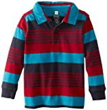 Tea Collection Baby-Boys Infant Long Sleeve Stripe Polo