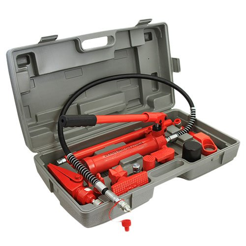 XtremepowerUS 4 Ton Hydraulic Porta Power Auto