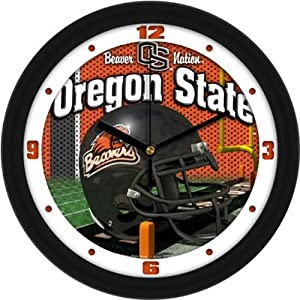 Oregon State Helmet Wall Clock by SunTime