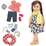 "Our Generation Reese Deluxe 18"" Poseable Travel Doll"
