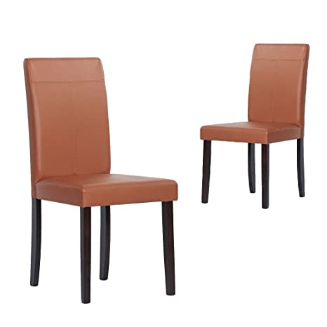 Metro Shop Warehouse of Tiffany Toffee Dining Room Chairs (Set of 4)