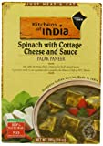 Kitchens Of India Ready To Eat Palak Paneer, Spinach With Cottage Cheese, 10-Ounce Boxes (Pack of 6)