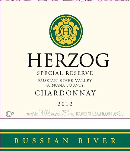 2012 Herzog Special Reserve Russian River Valley Chardonnay 750 Ml
