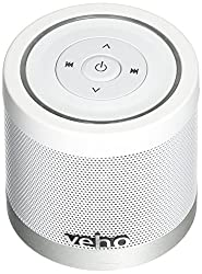 Veho VSS-747-360BT Portable 360 Bluetooth Speaker for iPhone/Phones/Laptops/Netbooks/Bluetooth Devices with Micro SD/Volume/Track Control/2x 2.2W, White