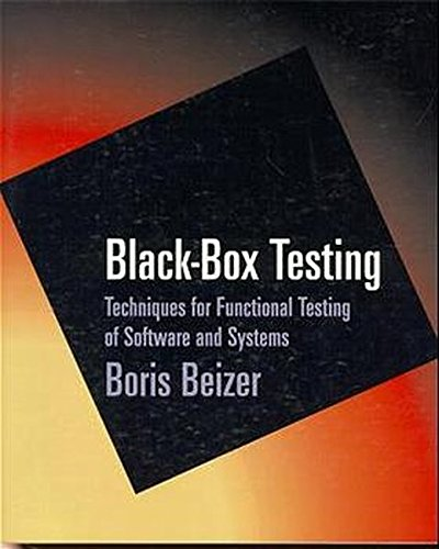 Black-Box Testing: Techniques for Functional Testing of Software and Systems (Black Box Testing compare prices)