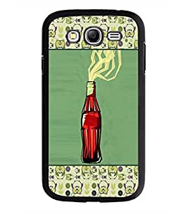 PrintDhaba Bottle D-6036 Back Case Cover for SAMSUNG GALAXY GRAND I9082 (Multi-Coloured)