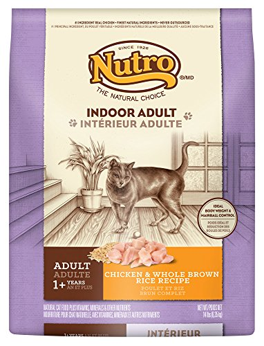 Nutro Indoor Adult Cat Chicken & Whole Brown Rice Recipe
