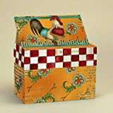 Lang Kitchen Whimsy Recipe Card Box by Lisa Kaus, 4 by 6-Inch, Multicolor