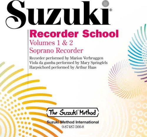 Suzuki Recorder School (Soprano Recorder), Vol 1 & 2