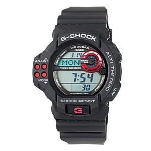 (超帅)卡西欧Casio Men GDF100-1A G-Shock 测温气压高度防水防震户外表,黑$80.99