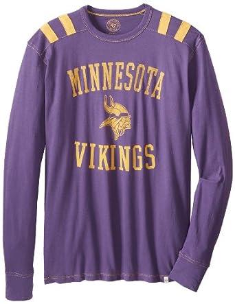 NFL Minnesota Vikings Mens Bruiser Long Sleeve Tee by
