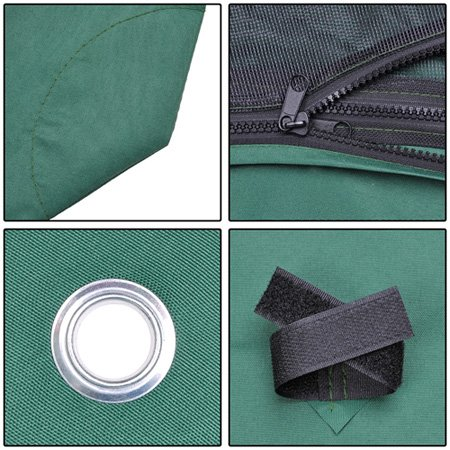 Heavy duty green poly fabric 10x10 square feet garden for 10x10 square feet