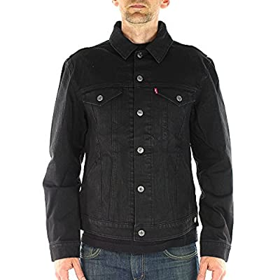 Levi's Commuter Denim Trucker Jacket 2 - Black 4Xc